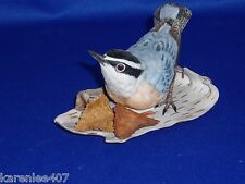 LENOX RED BREASTED NUTHATCH BIRD COLLECTION PORCELAIN