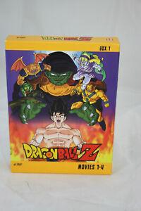 Dragonball Z - Movies 1-4 (4 DVDs) von Daisuke Nishio Zustand gut #17.3 861 J3