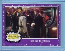 2017 Topps The Last Jedi Card Into The Nightclub #4 Purple Starfield INV0107