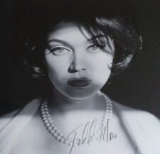 """TODD HIDO 'Woman in Pearls' Silver Meadows 2013 SIGNED Exhibition Poster 12""""x16"""""""