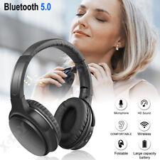 Bluetooth 5.0 Wireless Earphones Bass Headphones HD Sound Headset For Sony HTC