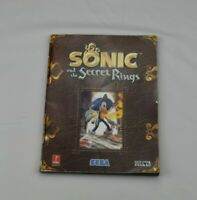 Sonic And The Secret Rings Prima Official Game Strategy Guide 2007