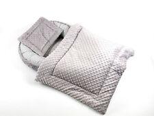 SET Babynest + Kissen + Bettdecke Schlafnest für Babys Baby nestchen kokon Minky