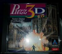 Puzz-3D CD Notre Dame Cathedral [PC CD-ROM] Hasbro Interactive for Windows 95