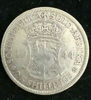 1944 SILVER  2 1/2 Shilling South Africa George V