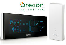 Oregon Scientific BAR292 PRYSMAchrome Digital Weather Station Clock W/ Sensor