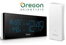 Oregon Scientific BAR292 PRYSMAchrome Digital Weather Station Clock W/ Sensor