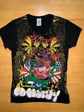 Ed Hardy Girls T-Shirt Sz 8