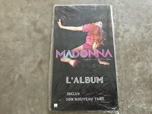 MADONNA CONFESSIONS DISPLAY from FRANCE with biadhesive / measure 14x25 SEALED