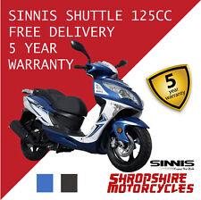 SINNIS Shuttle 125cc EFI scooter, commuter, twist and go