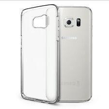 Samsung Galaxy S7 EDGE Case - Transparent Crystal Clear Soft Thin Flexible TPU