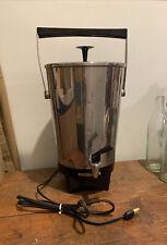 Mid Century Modern Toastmaster Vintage 60s M551 Coffee Maker Percolator 30 Cup