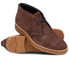 Timberland Folk Gentleman Chukka Rust Suede Men's Mid Boots Shoes UK 8.5 / EU 43
