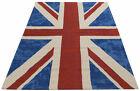 Carpet Tappeto Ikat Cotton Blu 150x90 cm