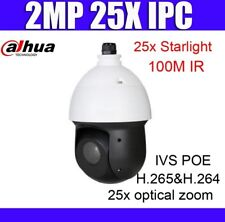 Dahua SD49225T-HN 2MP POE 25x Optical Zoom Starlight IR PTZ Network Dome Camera