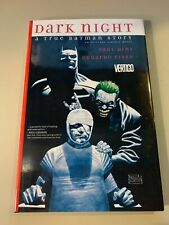 Dark Night A True Batman Story Comic Book Vertigo Hard Cover By Dini and Paul