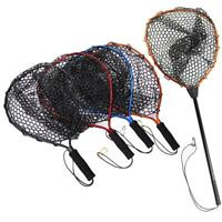Aluminum Pole Telescoping Foldable Fishing Net Landing Net Carp Fishing Tackle
