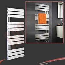 "500mm(w) x 1200mm(h) ""Apollo"" Chrome Designer Heated Towel Rail Warmer Radiator"