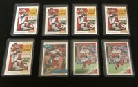 Lot Of 50 Kansas City Chiefs Football Cards. Will Guarantee 1 Patrick Mahomes
