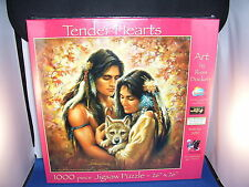 Jigsaw Puzzle 1000 piece Tender Hearts by Russ Docken Eco Ink and Board 6