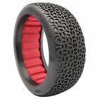AKA PRODUCTS INC. 1/8 Buggy Scribble Medium Longwear Tires Red (2)