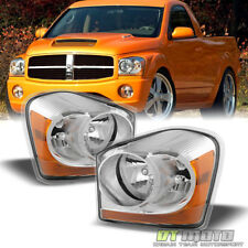 2004-2005 Dodge Durango Replacement Headlights 04 05 Front Head Lamps Left+Right