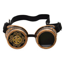 Vintage Victorian Steampunk Gear Goggle Party Aviator Cosplay Costume Goggle