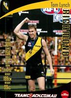 ✺Mint✺ 2019 RICHMOND TIGERS AFL Premiers Card TOM LYNCH Teamcoach