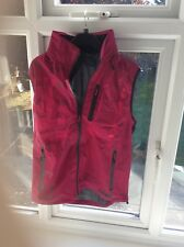 BURBERRY WOMANS GILET WITH HOOD UK M NEW
