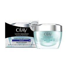 Olay White Radiance Advanced Whitening Night Essence Skin Cream 50g uk