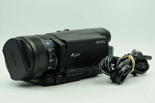 Sony FDR-AX100 4K Ultra HD Camcorder Video Camera                           #853