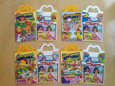1988 McDonald's Happy Meal Box, Zoo Face, Set of 4