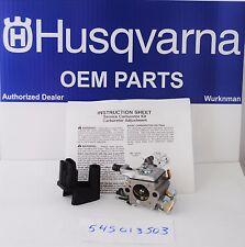 OEM Husqvara 545013503 Carburetor also Poulan  2750 2900 3050 same as WT 834