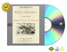 Chambers's encyclopedia; a dictionary of universal knowledge 10 Volume set On CD