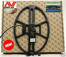 """New NEL THUNDER 14.5""""x10.5"""" DD search coil for Minelab Sovereign/Excalibur + acc"""