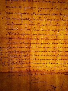 KING LOUIS XV AUTOGRAPH - DESIGNATION OF CONSULS OF d'UZES (LANGUEDOC) - 1717