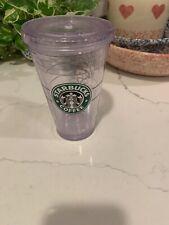 2009 Starbucks Acrylic Cold Beverage Cup W/lid Aloha Hawaii