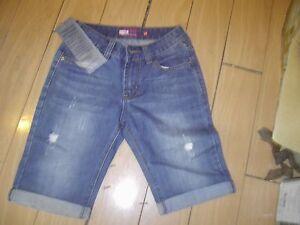 bulk lot of 5 denim unisex shorts