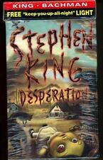 Desperation; The Regulators by Stephen King Sealed w/ reading light