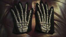 Bone gloves Skeleton fingers MISFITS style