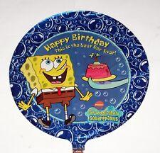 "SPONGEBOB SQUAREPANTS Nickelodeon Cartoon 18"" Diameter FOIL BALLOON SET 5 Pc New"