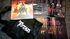 TYTAN-Rough Justice. LP/dvd/cassette/POSTER/SAC. LIMITED. NWOBHM. Angel Witch.