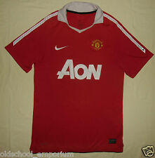 MANCHESTER United / 2010-2011 Home - NIKE - MENS football Shirt / Jersey. Size S