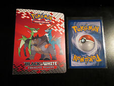 PL/EX Pokemon EMERGING POWERS Black&White Pocket Card MINI Binder/Album/Folder