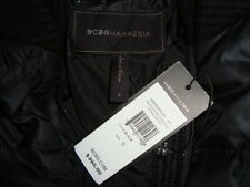 NWT$398 BCBG MAXAZRIA ANGELICA MOTORCYCLE 90% Down Coat Jacket Sz S