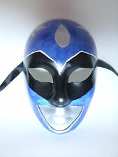 Blue Power Ranger Custom Venetian Masquerade Mask Mardi Gras Party Masks