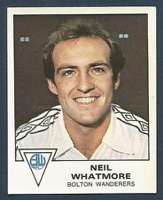 PANINI FOOTBALL 80- #049-BOLTON WANDERERS-NEIL WHATMORE