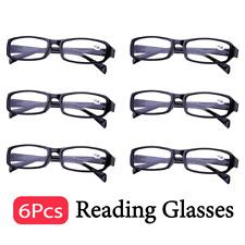 Frame Magnifying Mens Ladies Nerd Spectacle Reading Glasses 6 Pairs Wayfarer AU