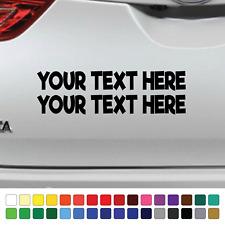 Custom Design Your Own Sticker Funny Car Window DUB Bumper Vinyl JDM VAG RE1