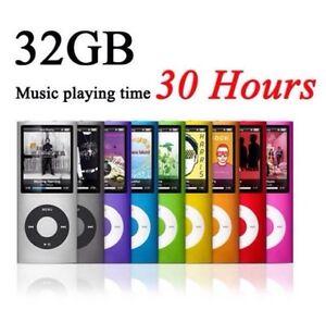 32GB Internal Memory MP3/MP4 Music Player (Purple) (Brand New)